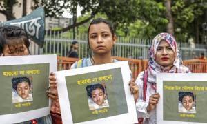 16 người bị truy tố trong vụ thiêu sống nữ sinh ở Bangladesh