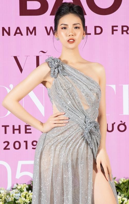 Sự kiện còn có sự góp mặt của giải Vàng siêu mẫu 2018 Quỳnh Hoa.