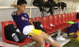 Đình Trọng chấn thương, Thành Chung thay thế dự King's Cup 2019