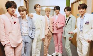 BTS gây sốt với từ khóa 'Hoàng tử nhạc Pop' tại Anh