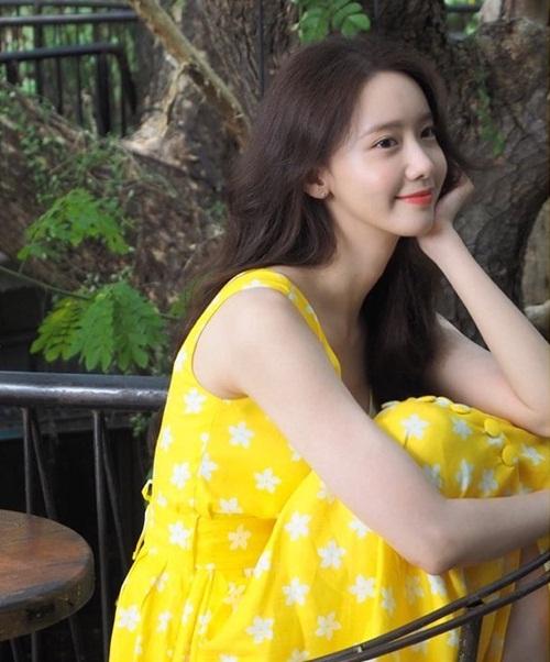 Yoon Ah có vẻ đẹp trong veo
