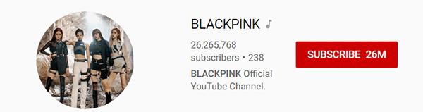 Black Pink chứng tỏ vị trí nữ hoàng trên Youtube.
