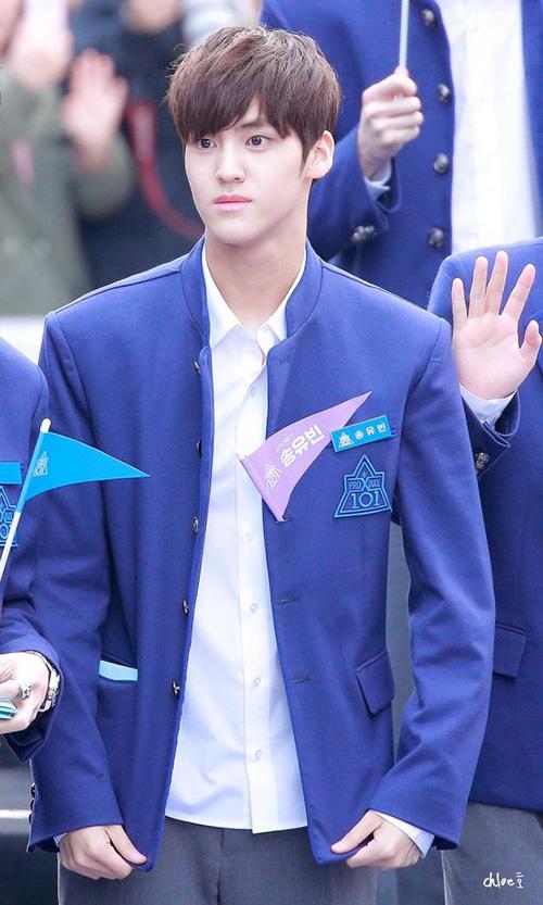 Song Yuvin được chú ý bằng vẻ ngoài sống Min Gyu (Seventeen). Anh chàng bị hỏng mic trong phần thi tuần trước. Khi được biểu diễn lại, Yuvin  thể hiện khả năng của mình với vị trí main vocal. Nam thực tập sinh đứng ở vị trí thứ 8 trong BXH tuần.