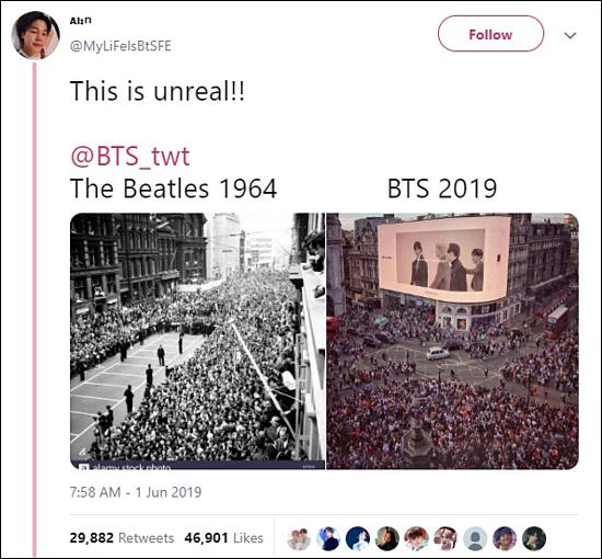 Bài đăng của một tài khoản Twitter nhận được hơn 46.000 lượt like và gần 30.000 lượt retweet sau vài giờ.
