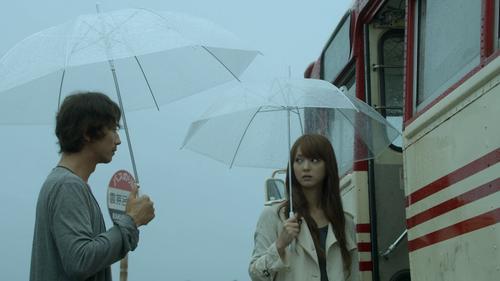 Trong lần gặp đầu, Rio giả vờ không có ô để đi chung cùng Ozawa.