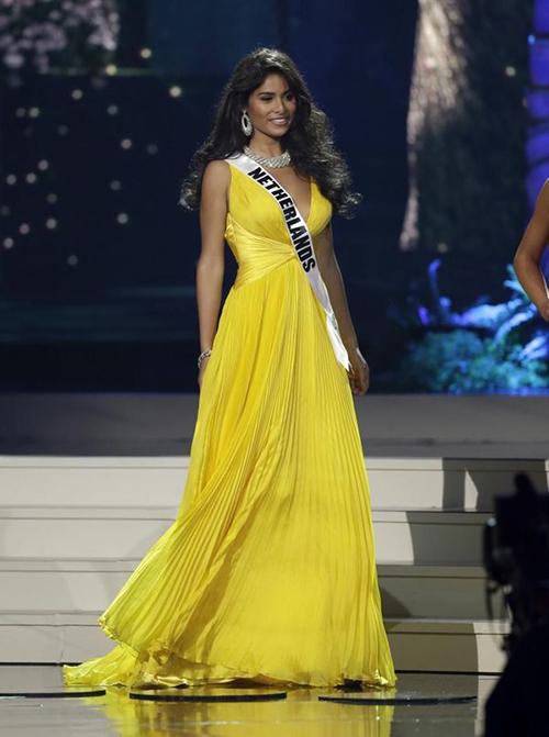 Vị trí thứ 6 thuộc về Người đẹp Yasmin Verheijen (Hà Lan) - Á hậu 3 Miss Universe 2014.