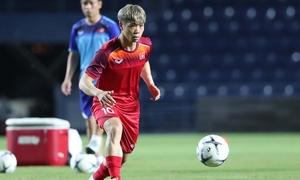 Công Phượng thoải mái tập luyện cho King's Cup sau khi rời Incheon United