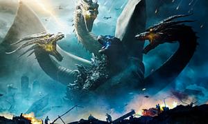 'Chúa tể Godzilla' chiếm ngôi đầu phòng vé thế giới