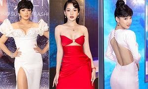 Mỹ nhân Việt khoe sắc vóc trên thảm đỏ show thời trang