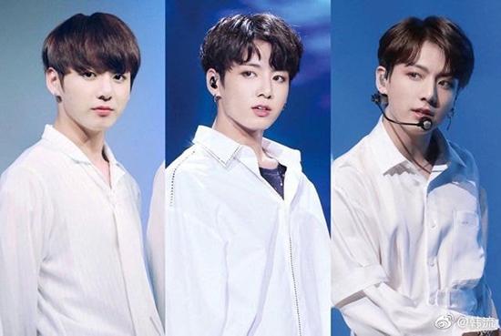 Netizen khen ngợi màn dậy thì thành công của Jung Kook, V (BTS)