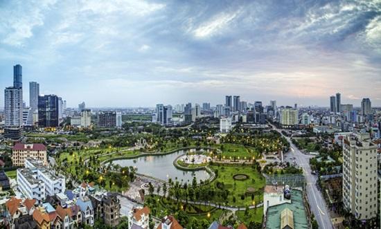 Nhìn cảnh đẹp đoán thành phố của Việt Nam
