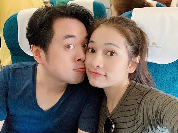 Vợ chồng Dương Khắc Linh - Duyên Sara đi trăng mật sau đám cưới.