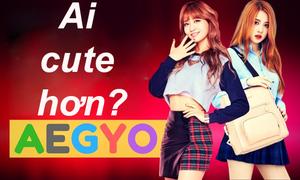 Rosé và Momo: Ai có aegyo đáng yêu hơn?
