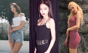 3 nữ idol đang gây 'bão' với thân hình ngày càng sexy