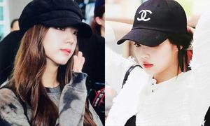 3 kiểu mũ 'ra sân bay' được sao Hàn yêu thích