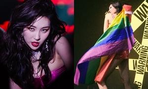 Sun Mi bất ngờ 'hot xình xịch' sau khi tuyên bố không phải... lesbian
