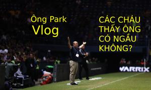 Thắng Thái Lan, HLV Park được chế ảnh 'Các cháu thấy ông ngầu không'
