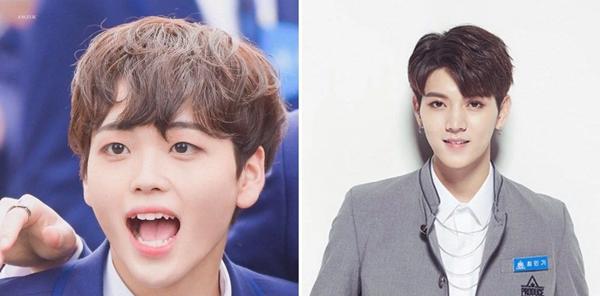 Rất nhiều người ngạc nhiên giữa sự tương đồng về nhan sắc của Hyeong Jun và Ren (NUEST). Cả hai đều có những đường nét thanh tú khá... nữ tính.