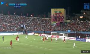 Triệu Việt Hưng ghi bàn mở tỉ số cho ĐT U23 Việt Nam