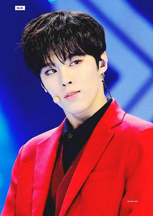 WooSeok là thành viên của nhóm UP10TION nhưng vẫn tham gia vào chương trình tuyển chọn. Nhờ lượng fan sẵn có, kinh nghiệm sân khấu, anh chàng luôn có thứ hạng cao trên các bảng xếp hạng bình chọn.