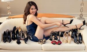 Những món đồ giá trị nhất trong bộ sưu tập túi, giày của Ngọc Trinh