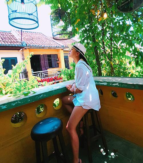 Ngô Thanh Vân chia sẻ rất thích Hội An vì vẻ đẹp thơ mộng.