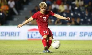 Loạt đá 11m giữa Việt Nam - Curacao tại chung kết King's Cup