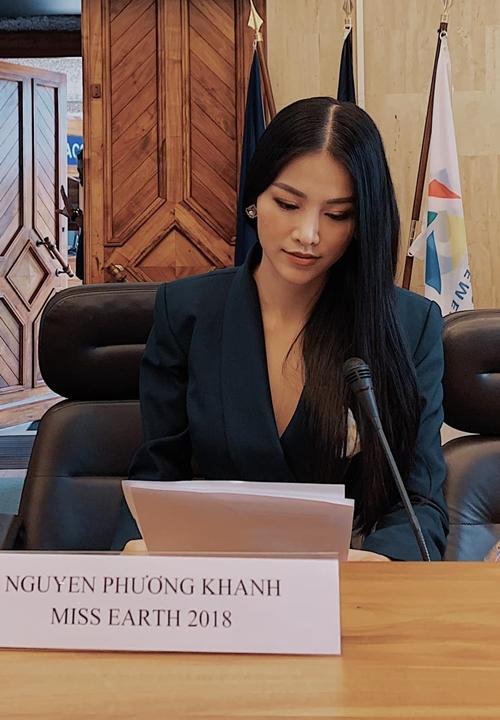 Phương Khánh tại sự kiện.