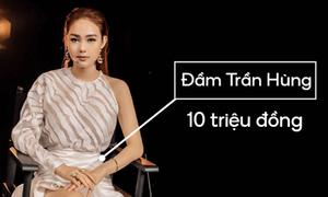 Minh Hằng tốn gần 40 triệu đồng cho một lần ngồi ghế nóng