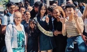 Phương Khánh phát biểu tại sự kiện hưởng ứng Ngày môi trường thế giới