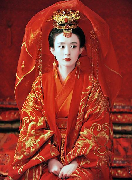 Đoán phim cổ trang Hoa ngữ qua trang phục cô dâu (2) - 6