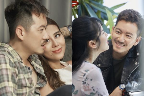 Nam Thư - Tú Vi bị trai đẹp hớp hồn trong web drama.