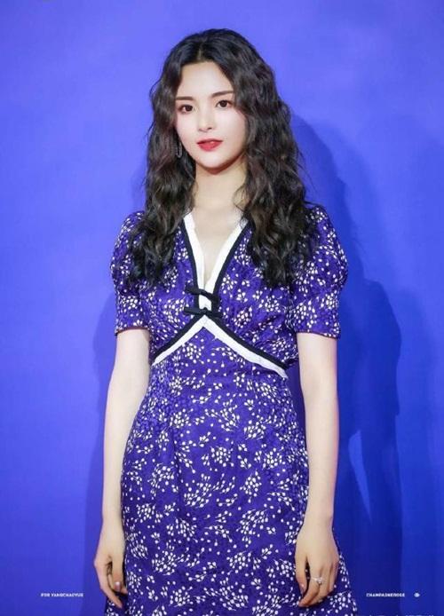Bộ váy đi thảm đỏ Liên hoan phim Thượng Hải của Dương Siêu Việt cũng không sang trọng hơn bao nhiêu.