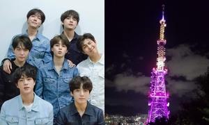 Thành phố Busan 'nhuộm tím' 7 địa danh để chào đón BTS