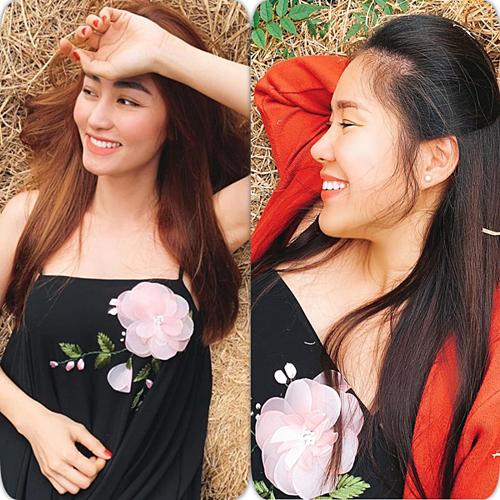 Lê Phương cho biết, cô và NgânKhánh có gia đình riêng nhưng cả hai khi rảnh rỗi vẫn cố gắng thu xếp thời gian gặp nhau. Lê Phương đang chuẩn bị cho lần sinh nở thứ hai còn Ngân Khánh, sau khi kết hôn, cô vẫn chưa có ý định sinh con vì đang du học ngành điện ảnh tại Singapore.
