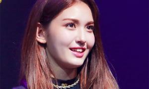 Somi tiết lộ về mối quan hệ với JYP trong họp báo