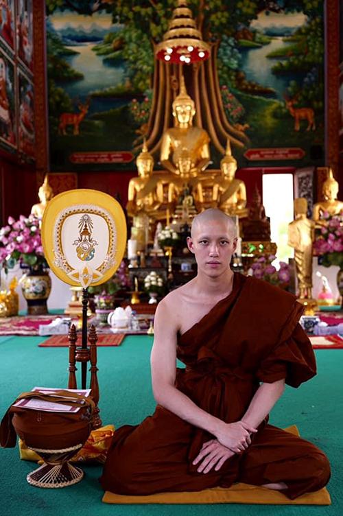 Tor Thanapob thời gian tới sẽ học thêm về Phật pháp.