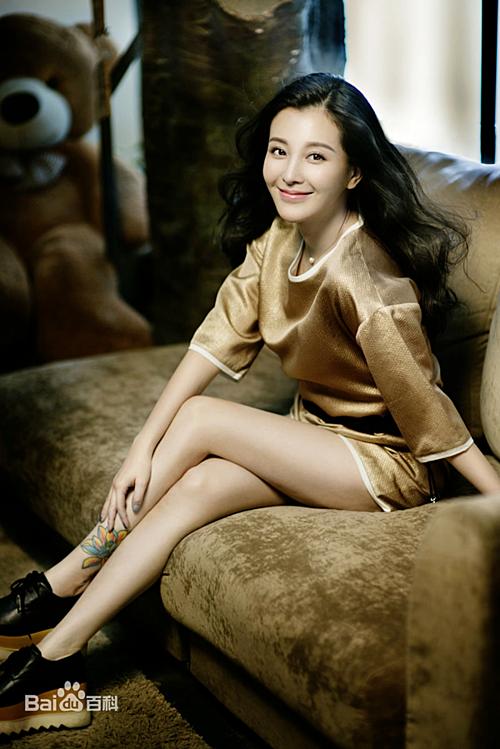 Nhan sắc của nữ diễn viên Lưu Vũ Kim ngoài đời.