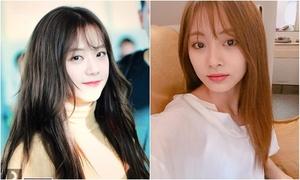 Tzuyu - Ji Soo 'một chín, một mười' khi cùng để tóc mái thưa