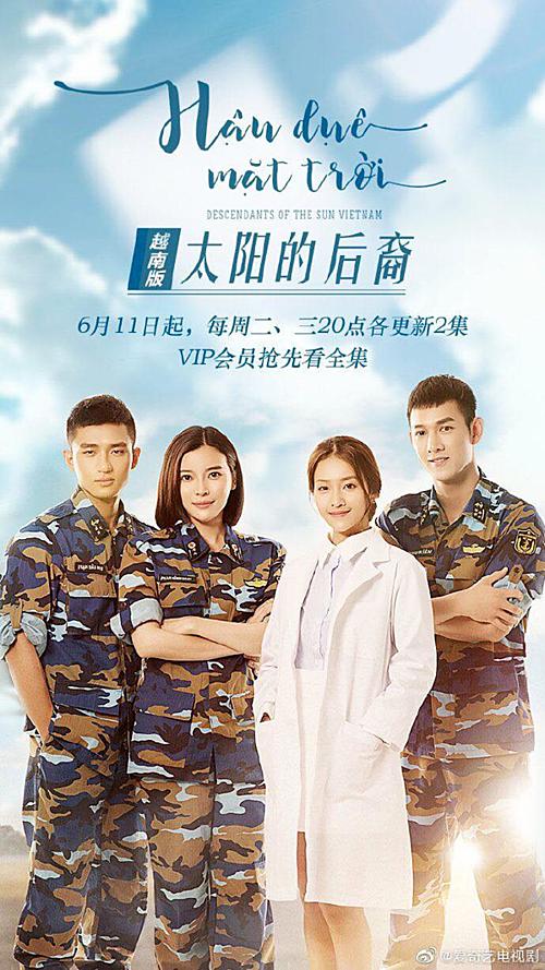 Poster phim phiên bản Trung.
