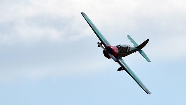 Chiếc Yak-52 được sản xuất từ thời Liên Xô cũ.