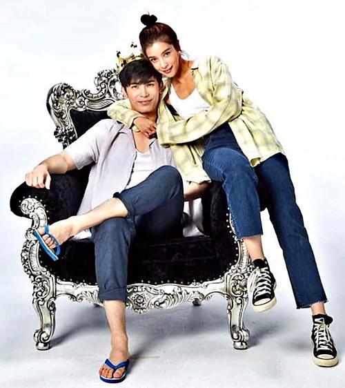 Tạo hình của cặp Son - Vill trong Hoàng tử ếch phiên bản Thái.