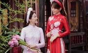 Á hậu Phương Nga thân thiết với 'người tình màn ảnh' của Bình An