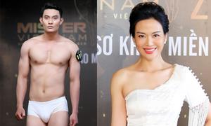 Hoa hậu Thu Thủy 'tìm trai đẹp' tại Hà Nội