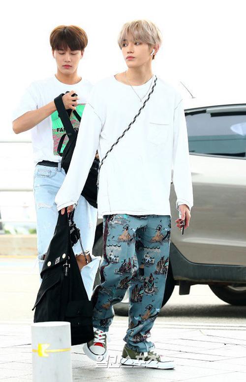 Nhóm NCT 127 di chuyển đến Thái Lan.