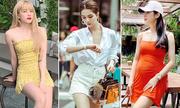Street style khoe eo thon, chân dài của sao Việt tuần qua