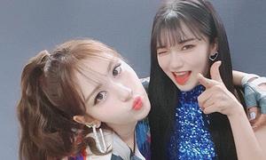 Somi bị lu mờ trên sân khấu solo vì nữ vũ công xinh đẹp