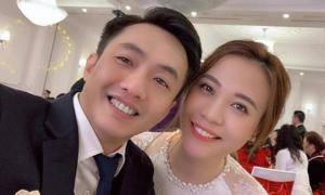 Đàm Thu Trang làm đám cưới với Cường Đô La vào tháng 7