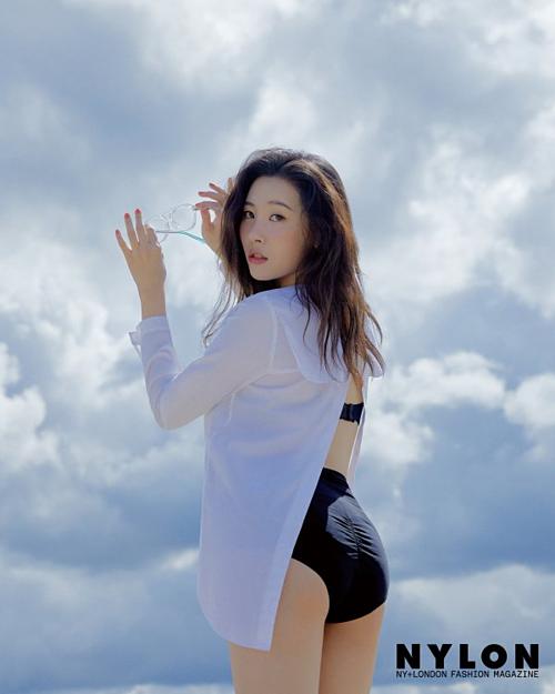 Sun Mi nhận nhiều lời khen về body khỏe mạnh sau khi tăng cân.