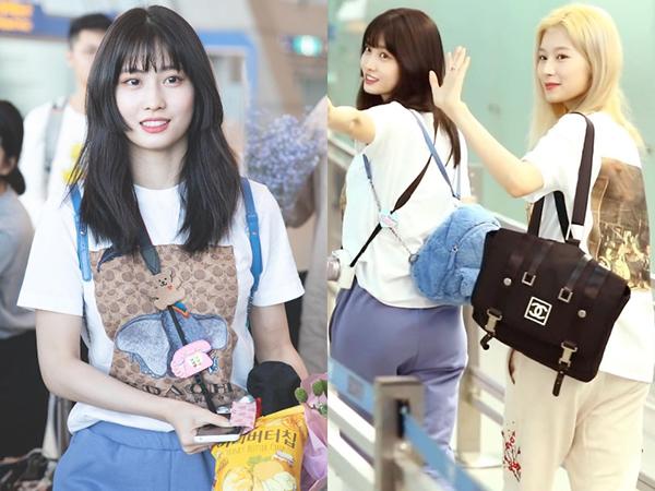 Không kém các đóa hồng nhà YG, Momo (Twice) cũng sở hữu cho mình chiếc túi đắt giá gần 77 triệu đồng đến từ nhà mốt Pháp.